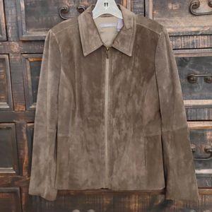 Liz Claiborne Suede Laddie's Jacket